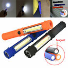 Multifunction Portable COB Lamp Camping Work Light Flashlight Torch W/Magnetic
