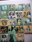 Dog Tile Coaster Gift Collie GSD Boxer Sheepdog Spaniel Retriever Lab Terrier
