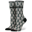 "Stance x Disney ""Mini Minnies"" Womens Crew Socks (Green) Minnie Mouse Collection"