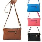 Women's PU Leather Messenger Bag Handbag Clutch Crossbody Satchel Shoulder Bags