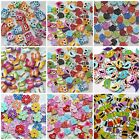 35 BUTTONS ANIMALS FLOWERS SCRABOOKING CARDMAKING CRAFT SEWING EMBELLISHMENT MIX