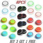 4X SILICONE THUMB STICK GRIP COVER CAP FOR SONY PS4 PS3 XBOX ONE 360 CONTROLLER