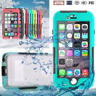 Waterproof Shockproof Snow proof Fingerprint Case Cover For iPhone 6 6S Plus New