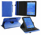 Universal Elegant (7-8 inch ) 360° Rotating Wallet Case Cover + Stylus Pen