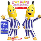 Bananas in Pyjamas Wall Sticker Decor Movable Removable Decal Reusable Stickers