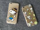 SALE Colorful Cute Snoopy Image Cover Case for Apple iPhone6/6s/Plus TPU+PC