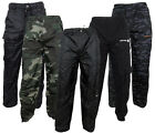 Mens Location Waterproof Tracksuit Track Pants Bottoms Pant Fishing Camping New