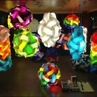 Mixed Colors Round Infinity Lights IQ ZE Puzzle Jigsaw Lamp 21 Colors USA