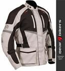 Buffalo Alpine Stone Textile Motorcycle Armoured Jacket Mens Scooter Commuter