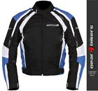 Buffalo Misano Blue Textile Motorcycle Armoured Jacket Mens Scooter Commuter
