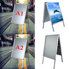 A1/A2 A-Board Double Side Pavement Sign Snap Frame Poster Sign Display Stands