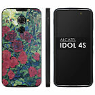 Alcatel Idol 4s Thin Gel Protect Cover [screen Protector] Design [var10]