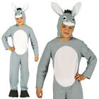 BOYS GIRLS KIDS DONKEY COSTUME FANCY DRESS MULE OUTFIT AGE 4-9 NEW