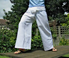 ORGANIC BAMBOO THAI FISHERMAN PANTS WESTERN SIZE IN A VARIETY OF COLORS. Yoga