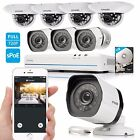 Zmodo 1080p 8CH HDMI NVR 1.0MP HD IP PoE Video Home Security Camera System 1TB