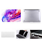 "Hard Case Cover for Apple Mac MacBook Air 13"" 13.3"" inch + Rubberized KB cover"