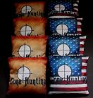 USA PATRIOTIC CAMO GONE HUNTING SEASON 8 ACA Regulation Cornhole Bean Bags B246
