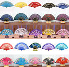 COOL Spanish Style Dance Wedding Party Lace Silk Folding Hand Held Flower Fan