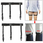 4 Pack Military Y Style/Stirrup Style/ Straight/Garters Belt Holders Shirt Stays