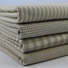 Homespun Collection 100% Cotton Fabrics Woven Checks Stripes