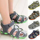 Baby Boys Summer Sandals Kids Walking Hiking Beach Shoes Breathable Antiskid HOT