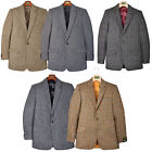 Genuine Harris Tweed Jacket Country Sports Blazer Hand Woven Pure Wool