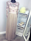 Needle & Thread Tulle Floral Gown RRP £225 (AS-26/13)
