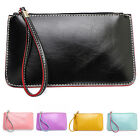 Women Candy Color Purse Card Phone Holder Coin Bag Clutch Handbag Wallet Sanwood