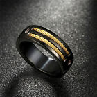New  European and American Fashion Accessories Stainless Steel Men's Ring  OZ