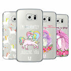 HEAD CASE DESIGNS SASSY UNICORNS HARD BACK CASE FOR SAMSUNG PHONES 1