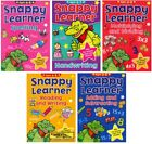 SNAPPY LEARNER CHILDREN'S EDUCATIONAL BOOKS Reading Writing Maths Spelling NEW