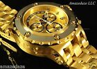 Invicta Mens Reserve Sub Aqua Specialty Swiss Chronograph Stainless Steel Watch!