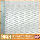 2mm Hole x 2.5mm Pitch x 1mm Thick Hexagonal Mild Steel Perforated Mesh Sheet