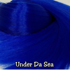 MLP 0.5 oz Shades of Blue Nylon Doll Rerooting Hair Hank My Little Pony Dawn