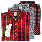 Ben Sherman Mens Plektrum Soho Slim Fit Kurzarm-Shirt Größe S-4XL