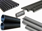 3k Carbon Fiber Tube 4mm5mm 6mm 7mm 8mm 9mm 10mm (Roll Wrapped) X 500mm 1pc-10pc