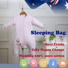 Baby Toddler Kid Sleeping Bag Sleepsuit Winter Autumn 2.5tog 3.5tog Pink Nursery