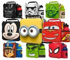 Kids Children Insulated 3d Lunch Bag Box And Drink Bottle Set Sport Water