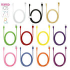 1M/3.28ft Colorful USB Cord Cable Data Sync Charger For iPhone 6 5 5S 5C iPod
