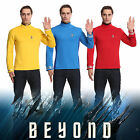 Star Trek Costume Cosplay Beyond Captain Kirk Spock Uniform Halloween Party on eBay
