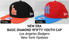 NEW ERA BASIC DIAMOND YOUTH 9FIFTY SNAPBACK CAP - LA DODGERS/NY YANKEES