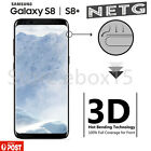 Full Coverage Tempered Glass Screen Protector For Samsung Galaxy S8 S8 Plus