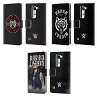 OFFICIAL WWE BARON CORBIN LEATHER BOOK WALLET CASE COVER FOR LG PHONES 2