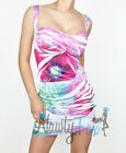 Sexy Floral Sleeveless Summer Party Clubwear Dress S-L