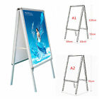A1/A2 A-Board Double Side Pavement Sign Snap Frame Poster Sign Display Stand