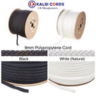 9MM ROUND POLYPROPYLENE ROPE BRAIDED POLY CORD SAILING CAMPING BOATING PULLEY