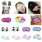 High Soft Eye Sleep Mask Cover Rest Travel Relax Sleeping Blindfold