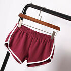 Women Sports Shorts Gym Workout Waistband Skinny Yoga Summer Cotton Short Pants