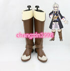 NEW Starting the Magical Book from Zero Cosplay shoes costomize AA.091