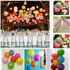 "Round Paper Lantern Lamp Wedding Xmas Party Baby Shower Decor 10"" New N98B"